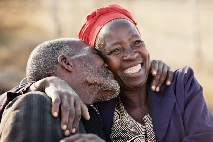 Eldery African couple NVIS investments